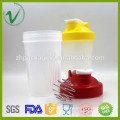 PCTG hot sale cylinder OEM factory price shaker BPA free plastic tritan water bottle joyshaker