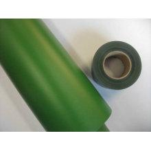 Película verde del PVC del grueso 691color de 0.07mm 0.1mm 0.12mm para la cerca