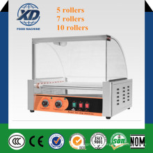 Automatische 5, 7, 10 Hot Dog Roller Maschine