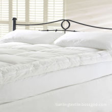 Down-Proof Cotton Casing Bed Topper