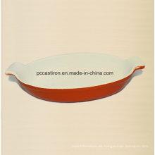 Esmalte de hierro fundido Paella Pan Fabricante de China