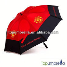 Buena calidad agradables paraguas deportivos de alta calidad de golf