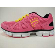 Frauen-Rosa-Fußbekleidung-leichte beiläufige Schuhe