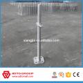 Base de jack d'échafaudage solide et creuse vis creuse base utilisée pour ringlock système et cadre système de haute qualité