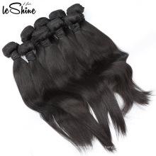 Aliexpress Gros Prix Grade 10A Cheveux Humains Weave Bundles Soyeux Droite Péruvienne Vierge Cheveux