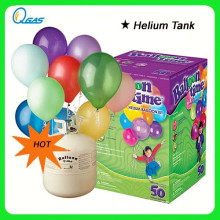 0.42 Cubic Meters Helium Disposable Gas Cylinder