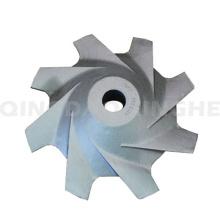Fundición de impelente de acero de cera perdida personalizada para maquinaria