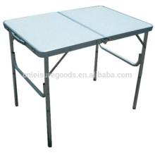 table de pique-nique pliante en aluminium