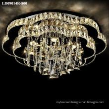 chandelier lighting fixture long crystal lighting modern