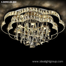 chandelier lighting fixture long crystal lighting modern