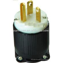 UL électrique prise Nema coupleur de connecteur 5-20P USA SJTOW