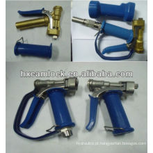 Arma de lavagem com tampa azul de sílica gel