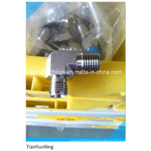 Stainless Steel Male Thread Tube Fitting Union Elbow