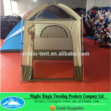 Fiber glass pole 2 person outdoor changing tent