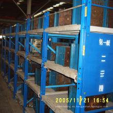 2015 estantería de estantería de molde estándar de almacenamiento de industria especial