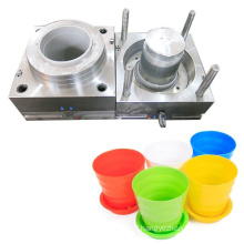 manufacturer design custom planter molding plastic pots moulds flower pot plastic injection mould