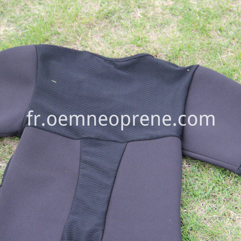 Neoprene fitness shirts