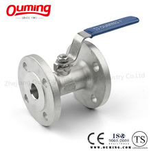 One-Piece Stainless Steel Flange End Ball Valve