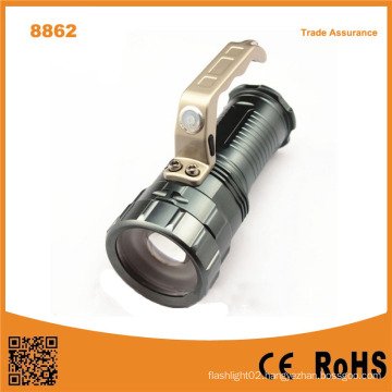 8862 Aluminium Alloy Camping Torch 10W T6 Tactical Flashlight