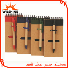 Eco Friendly Mini Notebook with Recycled Paper Pen (PNB023)
