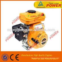 Портативный мини 152f 100cc вертикальный вал бензиновый двигатель для продажи