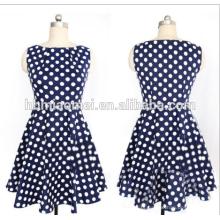 Verão das senhoras do desenhador de moda em linha reta dress mulheres polka dot completa manga na altura do joelho em linha reta dresse para escritório