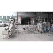 Pequeño precio de equipos de procesamiento de cítricos de acero inoxidable industrial