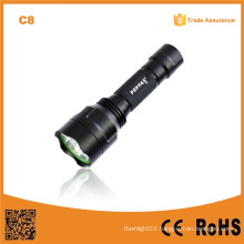 C8 CREE Xr-E Q5 LED Police Flashlight (POPPAS -C8)
