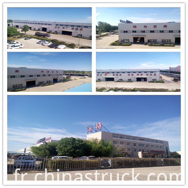 Yu Chai Dong Te Truck Factory Pictures