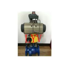 Válvula de esfera motorizada de 2 maneiras Ss304 para a água potável