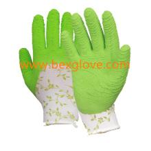 Латексная перчатка для сада, рабочая перчатка