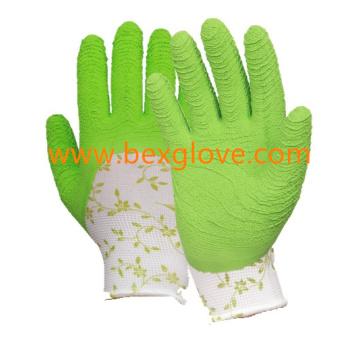 Printed Glove Liner, Garden Glove
