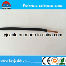 Медный проводник / CCA Проводник / Алюминиевый проводник / ПВХ-кабели Thw # 12 10 8 14 90c Кабели