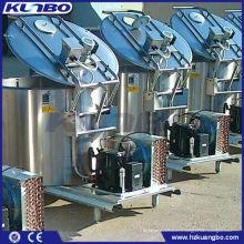 Réservoir de refroidissement vertical de lait vertical d'acier inoxydable adapté aux besoins du client