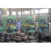 Llanta de la rueda para la línea de producción de la máquina de laminado del carro