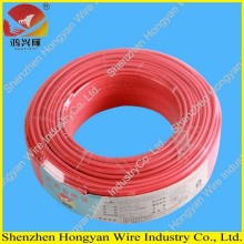 Single Core Koppar PVC Elektrisk Wire 100m / Roll