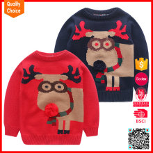 New designed christmas sweaters for boys