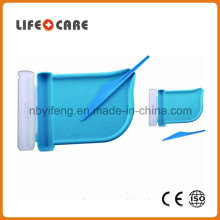 Medical Plastic Pillbox Counter Tray with Knife