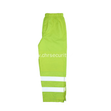 Road government safety reflective rain pants