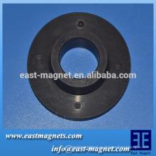 Anillo magnético multipolar para ventilador de escape / imán de ferrita polos múltiples para ventilador de techo