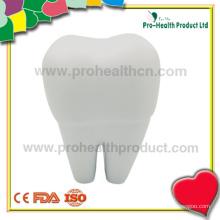 Fabricante de bolas de estresse em forma de dente personalizável