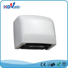 ABS White 1250W Automatic High Speed Hand Dryer for Public Washroom