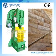 Piedra de la seta de pared Split cara la máquina para la fabricación de piedras decorativas