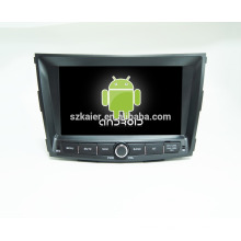 Quad core !android 4.4 car dvd player for Ssangyong deville 2015 +factory directly +OEM+DVR!