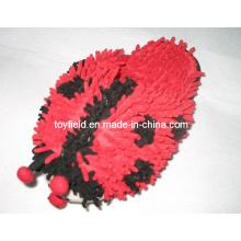 Sapatilha de brinquedo de pelúcia sapatas de animais de pelúcia (tf9715)