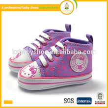 Fabricante 2015 best seller lovely hello kitty kids baby sports shoes