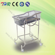 Stainless Steel Reclining Crib Bassinet (THR-RB002)