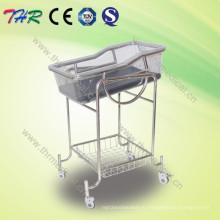Нержавеющая сталь откидывающаяся кроватка Bassinet (THR-RB002)