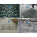Galvanized Galfan PVC revestido de Gabion Basket Precios