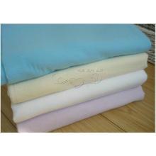 Voiture teintée solide de tissu de flanelle de coton / tissu de nettoyage automatique